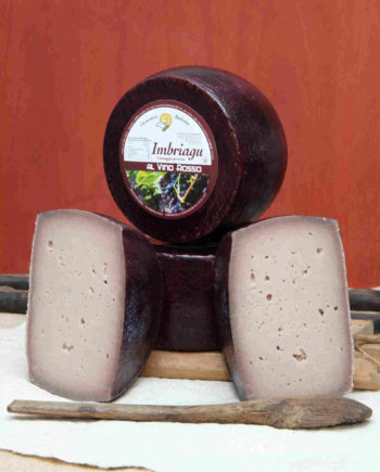 IMBRIAGU – Pecorino fresco al vino rosso –